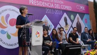 Concluye Jacqueline L´Hoist presidencia al frente de COPRED